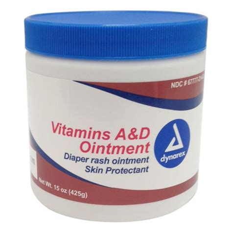ointment for tattoo rashes dynarex vitamins a d tattoo ointment 15oz jar skin