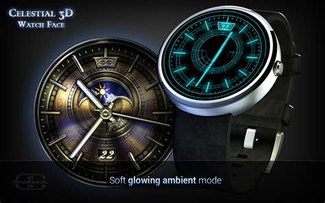 google watch wallpaper celestial 3d watch face android apps on google play