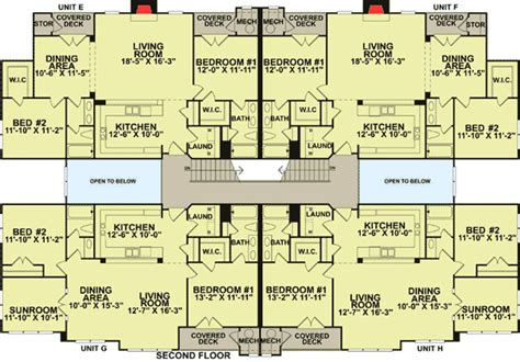 8 unit apartment building floor plans plan 83118dc creative 8 unit apartment building