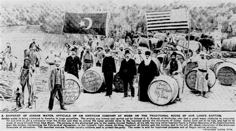 Ottoman Archives Restoration Of Jerusalem Synagogues River Waters Shipped To The United States In 1906