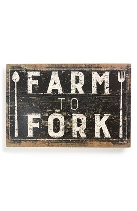 How To Make Home Decor Signs forks primitives and signs on pinterest
