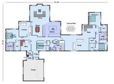 1000 Images About Home Plans On Pinterest House Plans House Plans With Guest Wing Nz