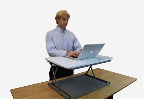ergonomic benefits of standing desk uncaged ergonomics cdmm w changedesk mini stand up desk