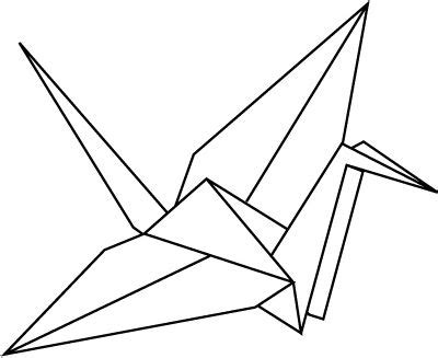 Origami Crane Clip - 25 best ideas about paper crane on