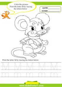 kindergarten letter m worksheets 1000 images about