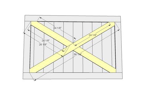 Diy Plans For Building A Barn Door Plans Free Building Barn Doors Plans
