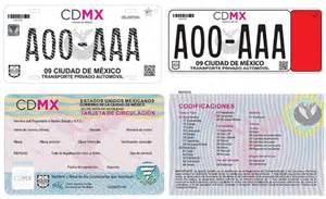 tarjeta circulacin nueva la economia cdmx tendr 225 nuevas placas calcoman 237 as y tarjeta de