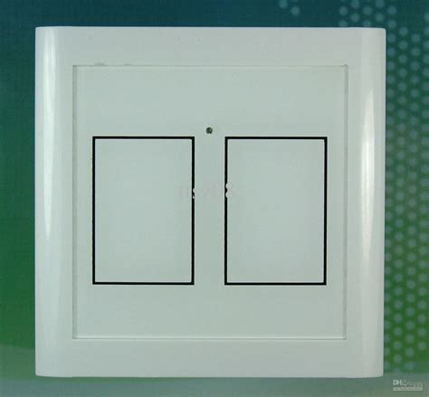 smart home wifi light switch touch glass panel