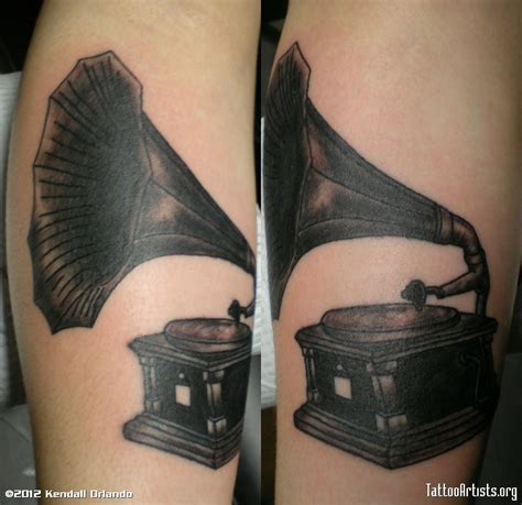 tattoo gallery edison phonograph quotes like success
