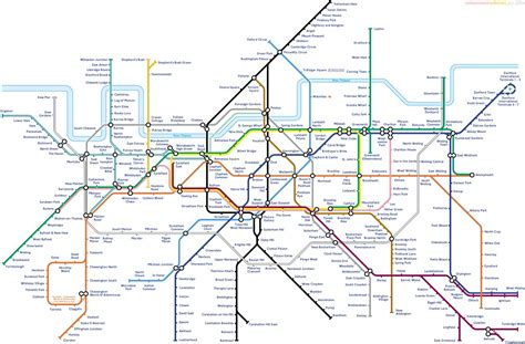 tube map 2015 northern line northern line london underground map
