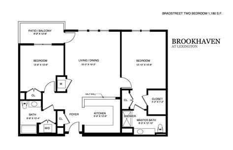 floor plan layout design brookhaven apartment floor plans