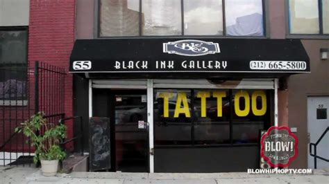 tattoo shop new york ink black ink crew blowhiphoptv com youtube