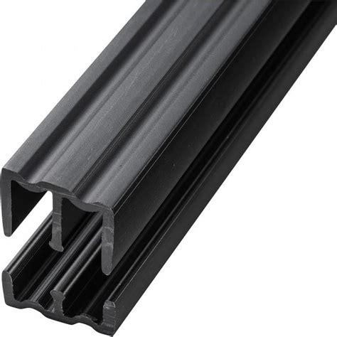 sliding tracks for cabinets 4 foot plastic sliding door track rockler woodworking tools