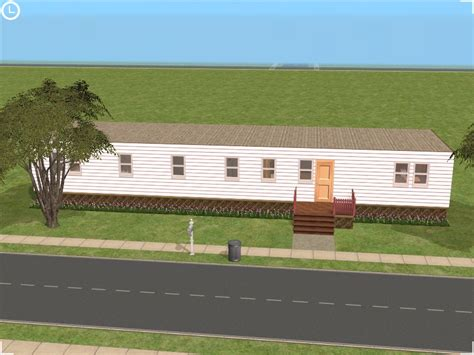 mod the sims affordable 2 bedroom mobile home for sale mod the sims under 20k starter mobile homes 1 2 and 3