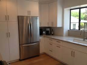 modern flat panel modern kitchen los angeles by