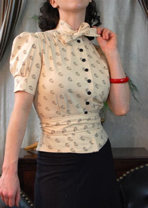 Retro Pattern Blouse 217211 il fullxfull 115767882 jpg jpeg imagen 1065 215 1500 p 237 xeles inspirational vintage fashion