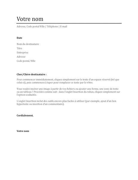 Exemple Lettre De Recommandation Simple lettre de motivation simple office templates