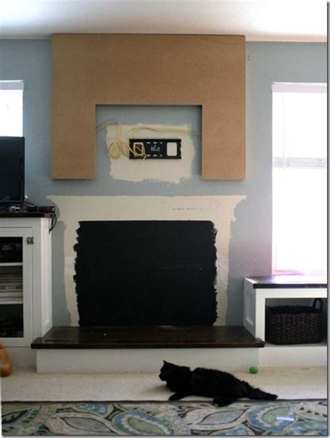 how to build a faux fireplace building the fireplace mantel my faux fireplaces