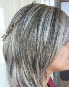 grey hair with lowlights pictures best 25 frosted hair ideas on pinterest