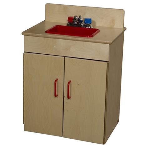 Wood Designs Play Kitchen | wood designs wd10200 classic play kitchen sink schoolsin