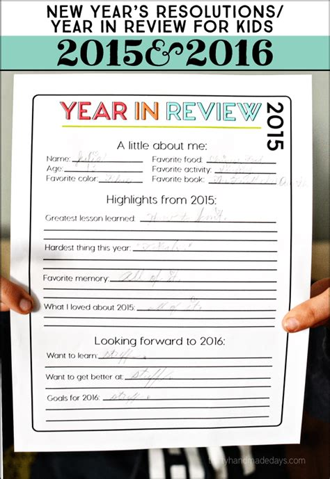 2013 new year s predictions printable on lilluna printable new year s resolutions for 2016 thirty