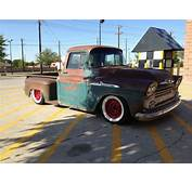 Sell New 1958 Chevrolet Apache Truck RAT ROD Lowered