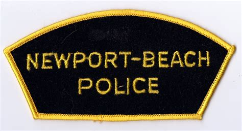 Arrest Records Newport Ca California Patches For Sale Trade K O Dan S California Badges And