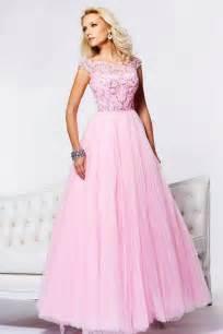 Tulle beaded pleated pink prom dresses 2013 on sale on onlinepromdress