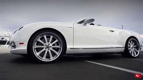 bentley gtc custom bentley continental gtc on custom 22 quot lexani forged wheels
