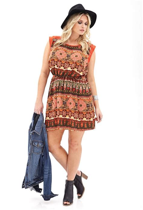 Id 0207 Ethnic Print Dress 312 best images about styles i d try on clothes for plus size and