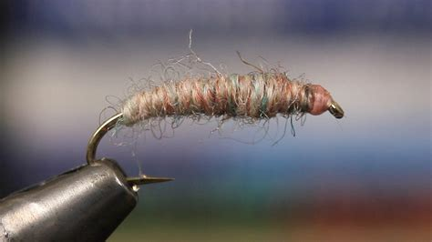 how to tie a crane fly larva fly fishing reporter