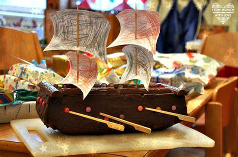 kuchen piratenschiff rezept piratengeburtstag mit schatzsuche f 252 r kleine seer 228 uber