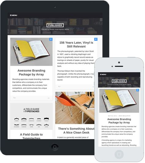themeforest publisher publisher wordpress theme by arraythemes themeforest