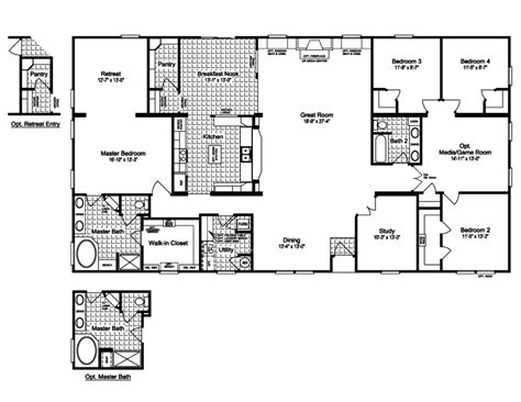 mobile home floor plans houses flooring picture ideas