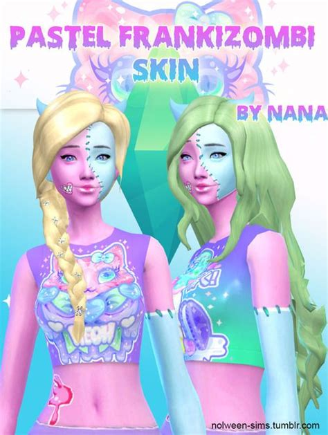 sims 4 kawaii skins 102 best images about sims 4 kawaii on pinterest high