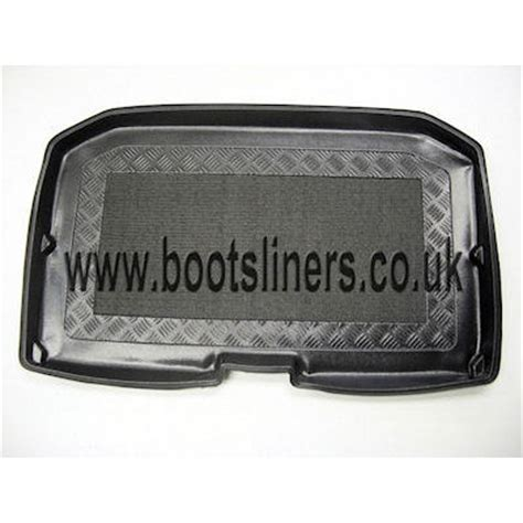 upper boat car dealers nissan note boot liner 2006 2013 boot liners tailored