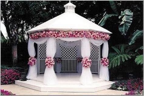 Wedding Gazebo Decor by Weddingtrend Gazebo Wedding Decorations