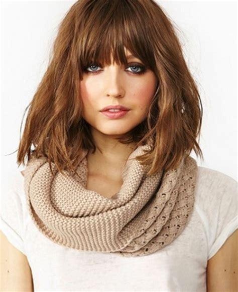 hairstyles 2017 fringe stylish 2017 medium hairstyles for women goostyles com