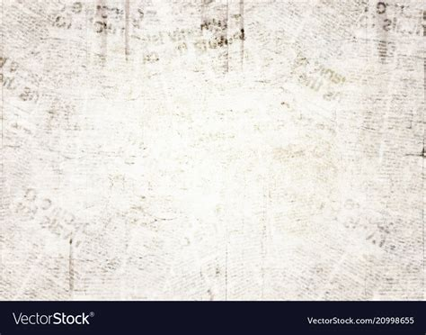Newspapers Background Stock Illustration 294853400 Vintage Grunge Newspaper Texture Background Vector Image