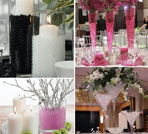 Do It Yourself Wedding Reception Table Decoration Photograp