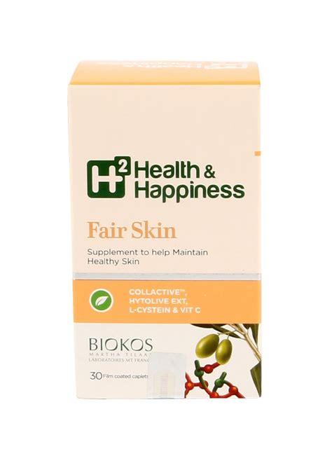 H2 Fair Skin 30s H2 Health Happiness Fair Skin 30 S Box Klikindomaret