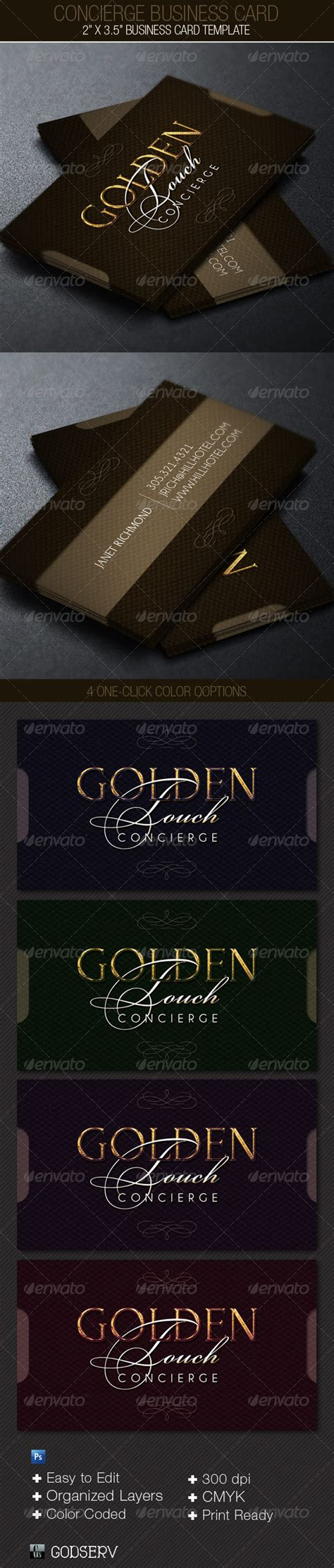 concierge business cards template concierge business card template by godserv on deviantart