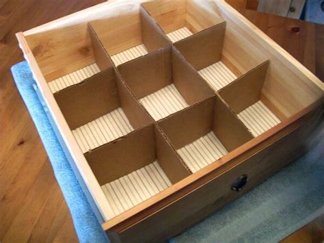 Make Your Own Drawer Organizer by Clever Cheap Or Free Organization Happiness Is