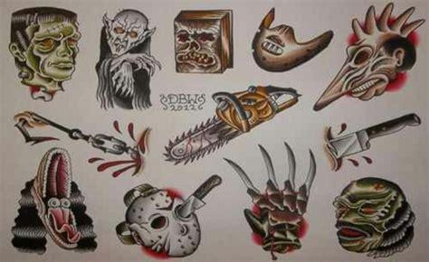 horror movie tattoo designs horror ideas tattoos