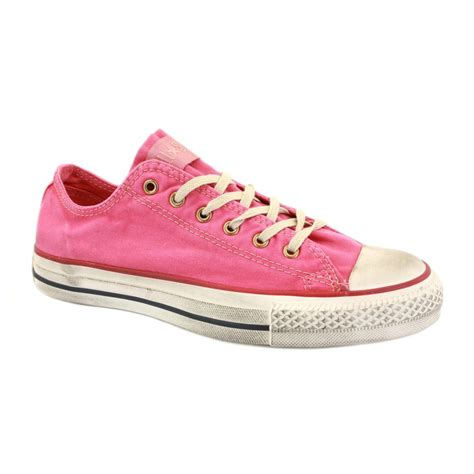 Converse Canvas converse chuck washed canvas ox 136712c unisex