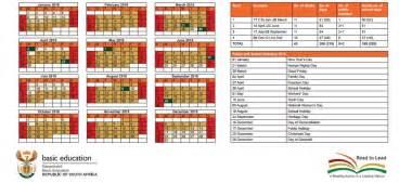 Calendar 2018 Gauteng Calendar