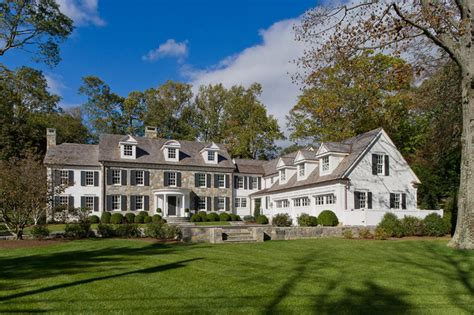colonial home builders custom colonial traditional exterior new york by