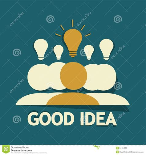 what a good idea to do and of all the memories made from good idea royalty free stock photo image 34484335