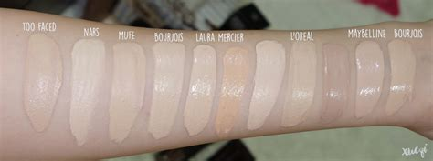 born this way too faced snow foundation swatches too faced born this way foundation swatches and review