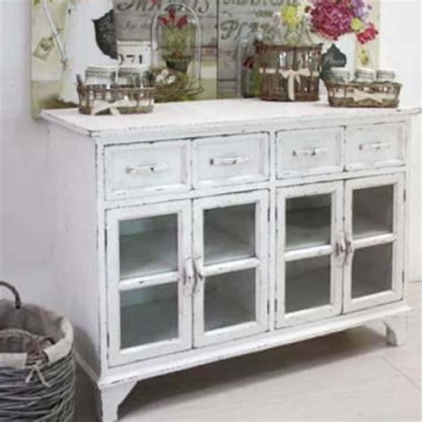 credenze basse shabby chic credenza shabby chic etnico outlet mobili etnici